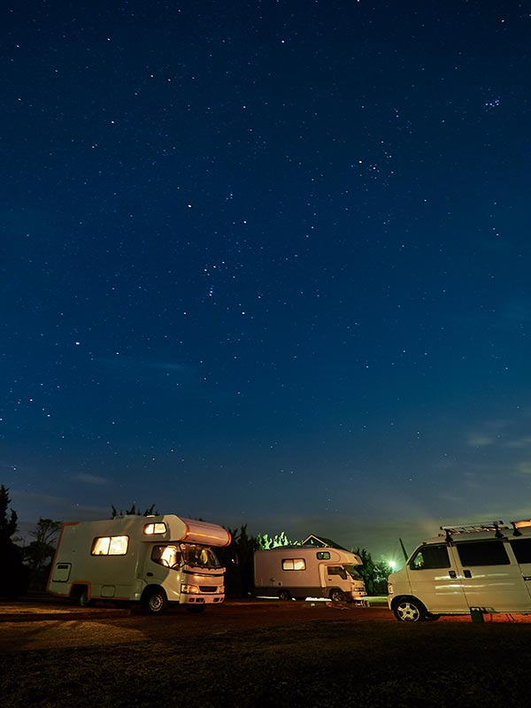 RV Hookups at Sage Canyon Outfitters